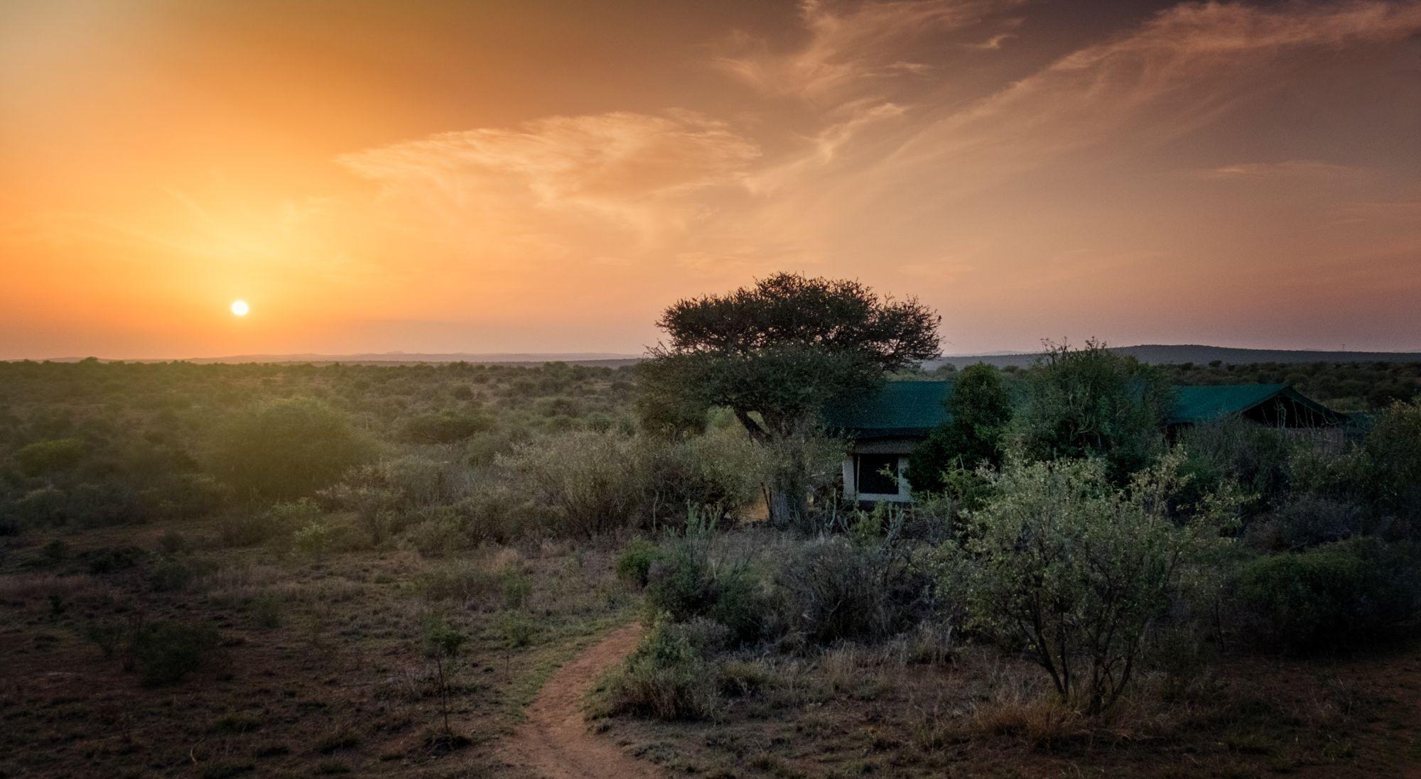 Kenya's Northern Frontier Tours 2019 - 2020 -  sunset desert