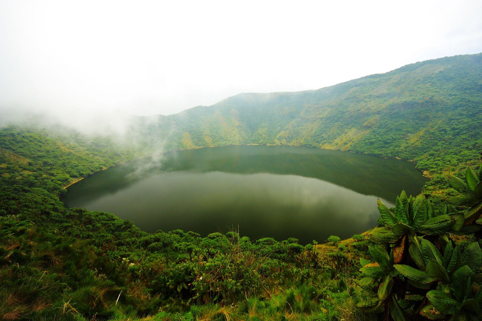 Uganda and Rwanda Gorilla Trekking Tours 2019 - 2020 -  Mount Bisoke Crater Lake