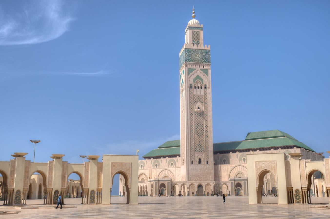 Morocco Exclusive Tours 2019 - 2020 -  hassan ii mosque casablanca