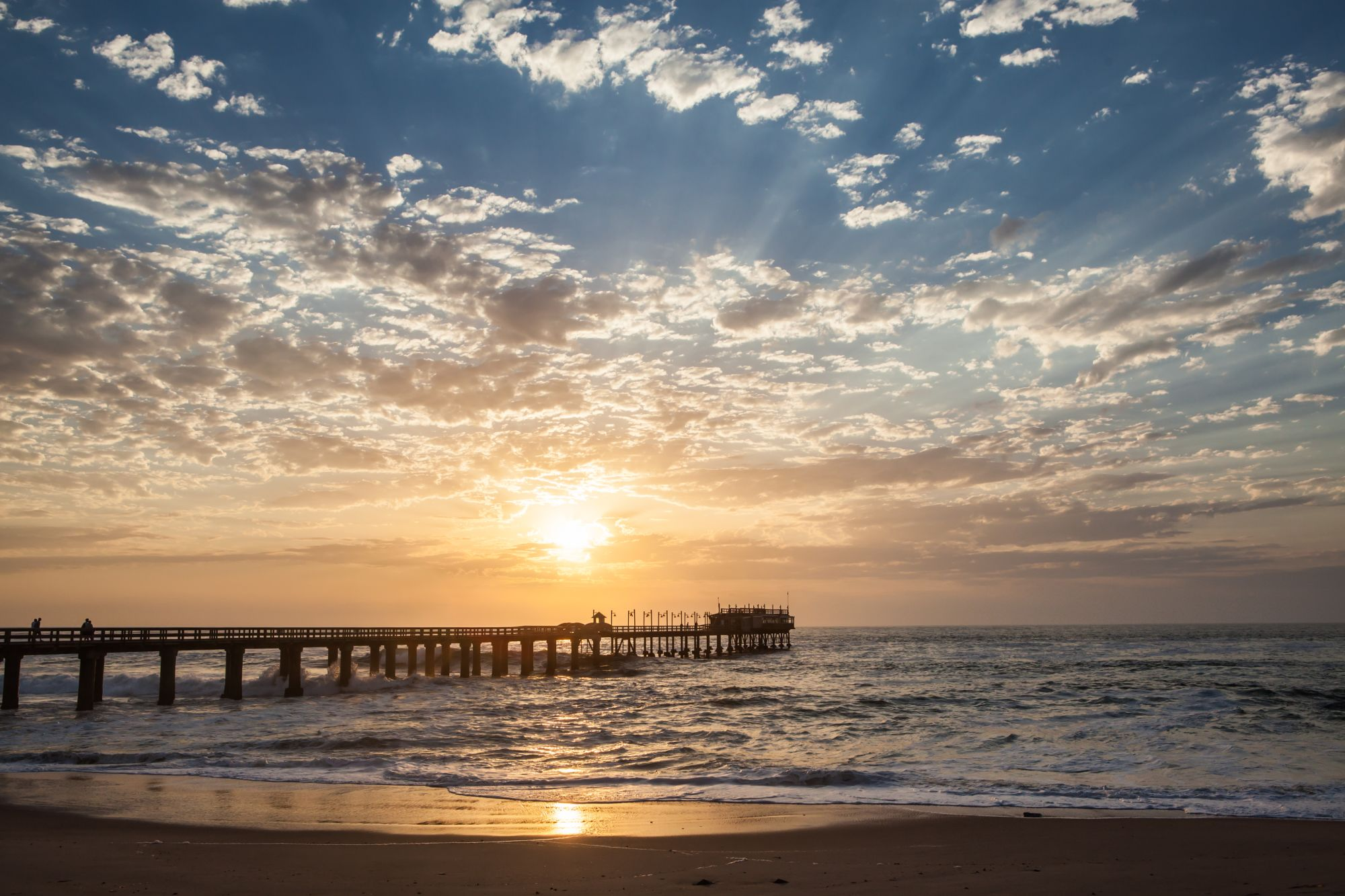 Namibia Dunes & Damaraland Tours 2019 - 2020 -  Ocean sunset