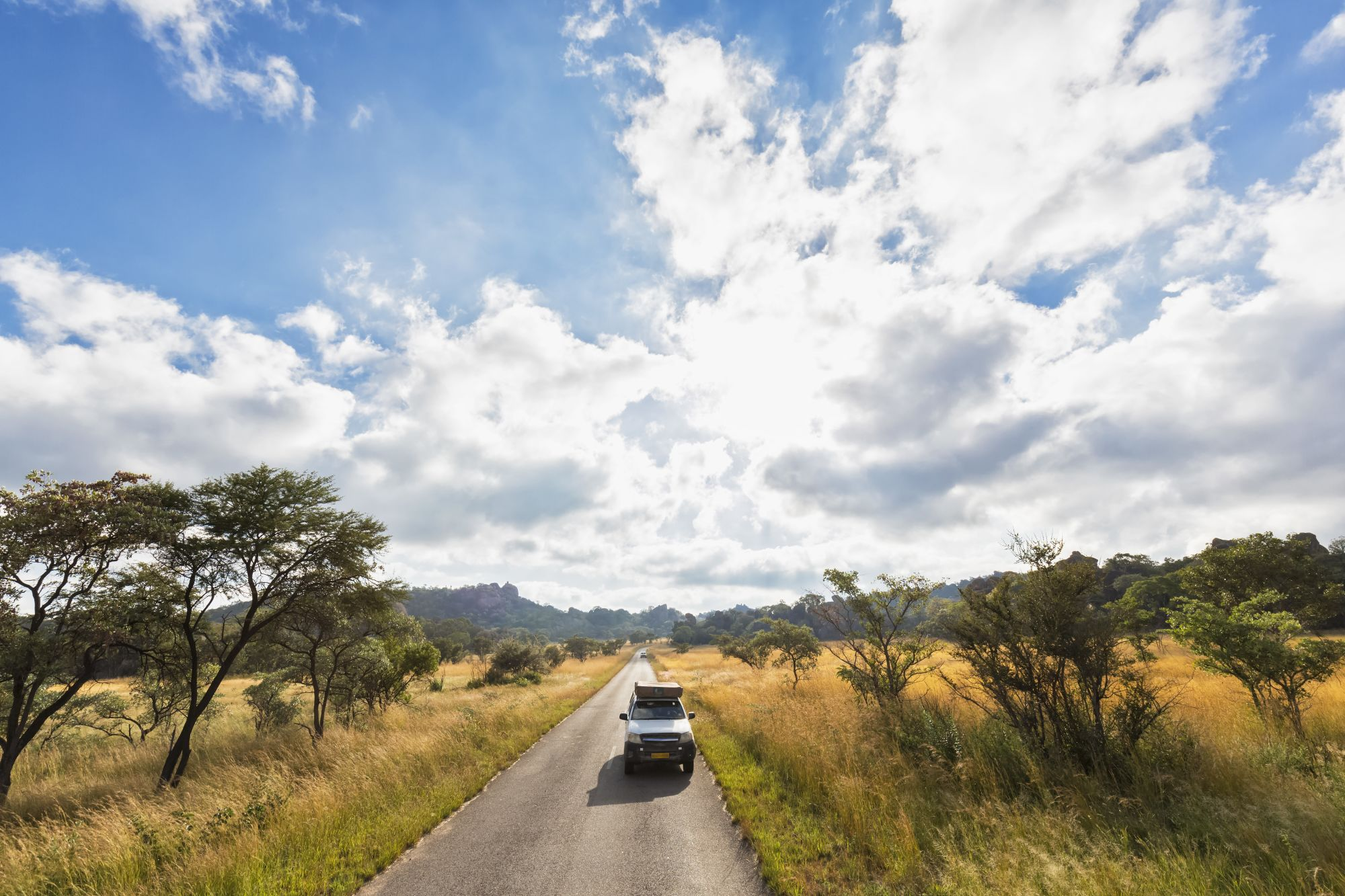 Best of Zimbabwe  Tours 2019 - 2020 -  Jeep driving through park