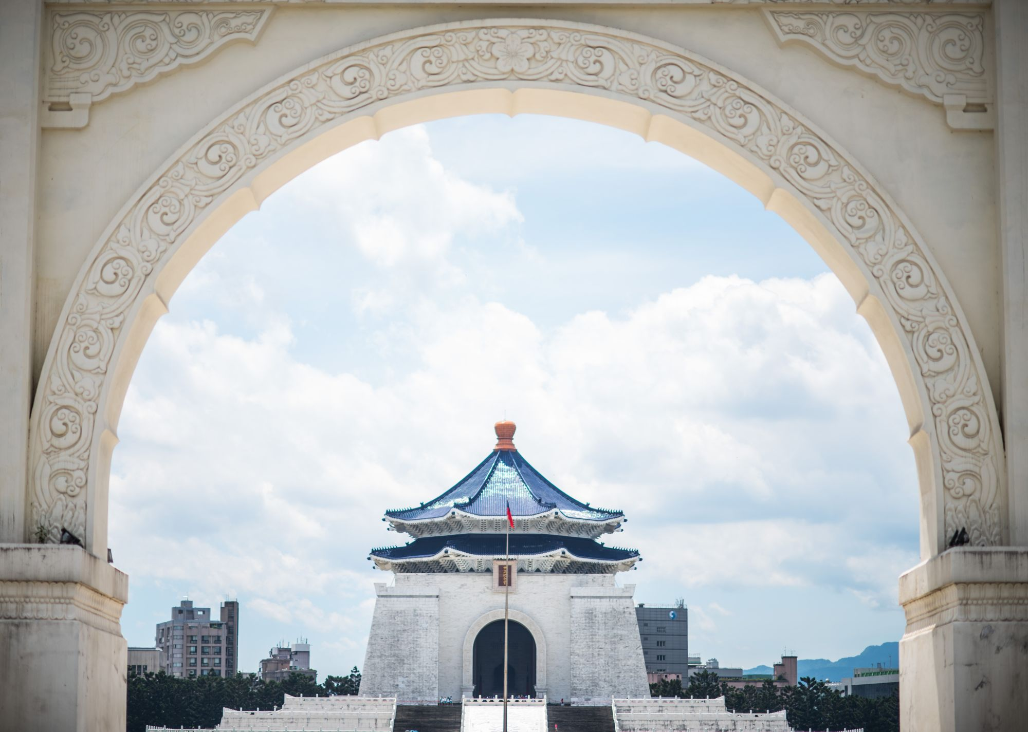 Taipei City Break Tours 2019 - 2020 -  chang kai shek memorial