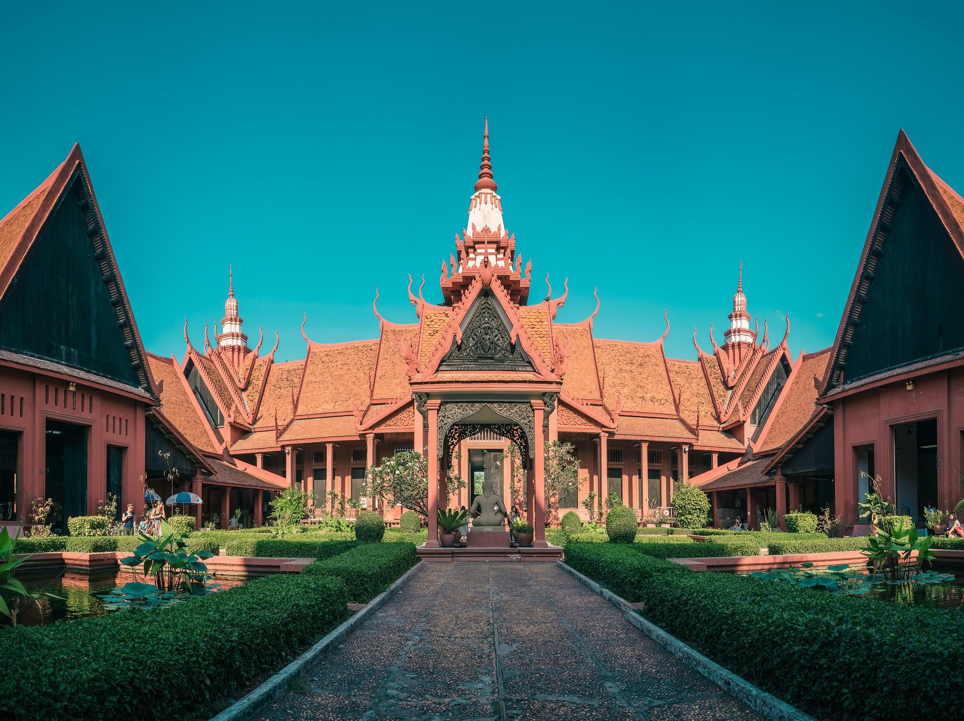 Highlights of Saigon, the Mekong, & Angkor Wat Tours 2019 - 2020 -  Cambodia National Museum