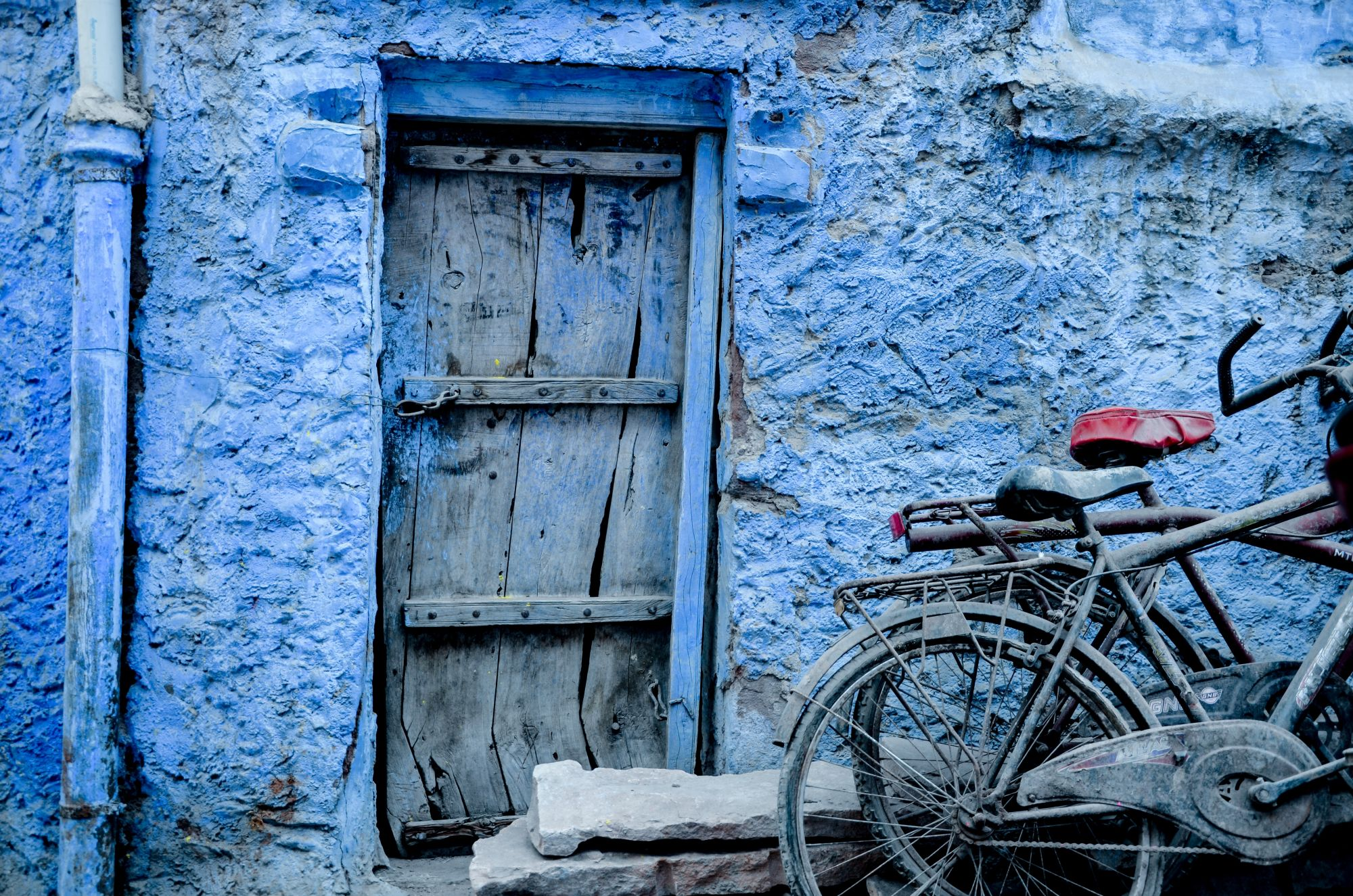 Southeast Asia Grand Journey Tours 2019 - 2020 -  jodhpur blue wall bikes