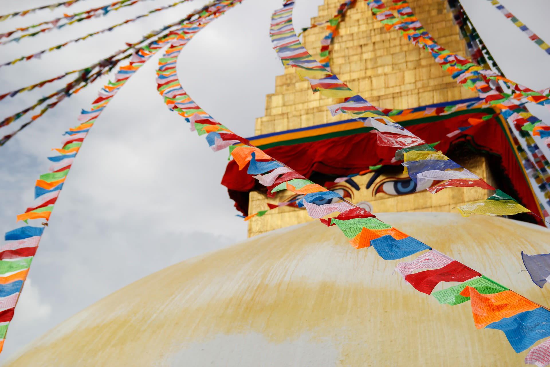 Kingdoms of the Clouds Tours 2019 - 2020 -  Nepal Stupa Kathmandu