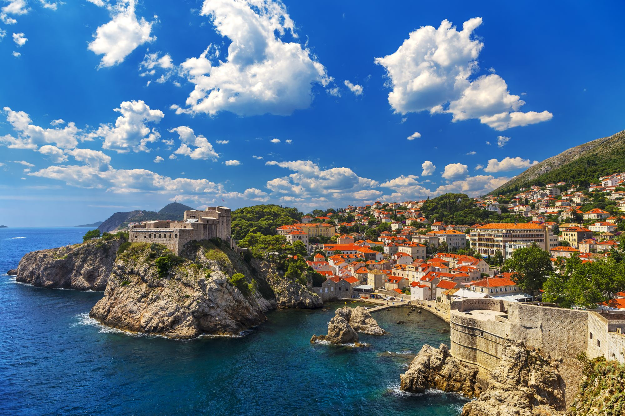 Montenegro Highlights Tours 2019 - 2020 -  Fortifications of Dubrovnik