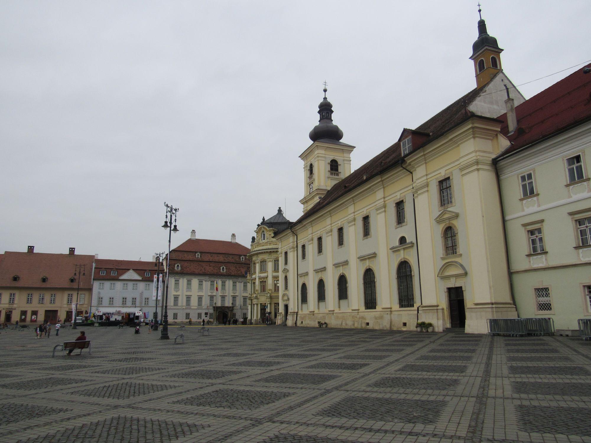 Transylvania Explorer Tours 2019 - 2020 -  open space in sibiu