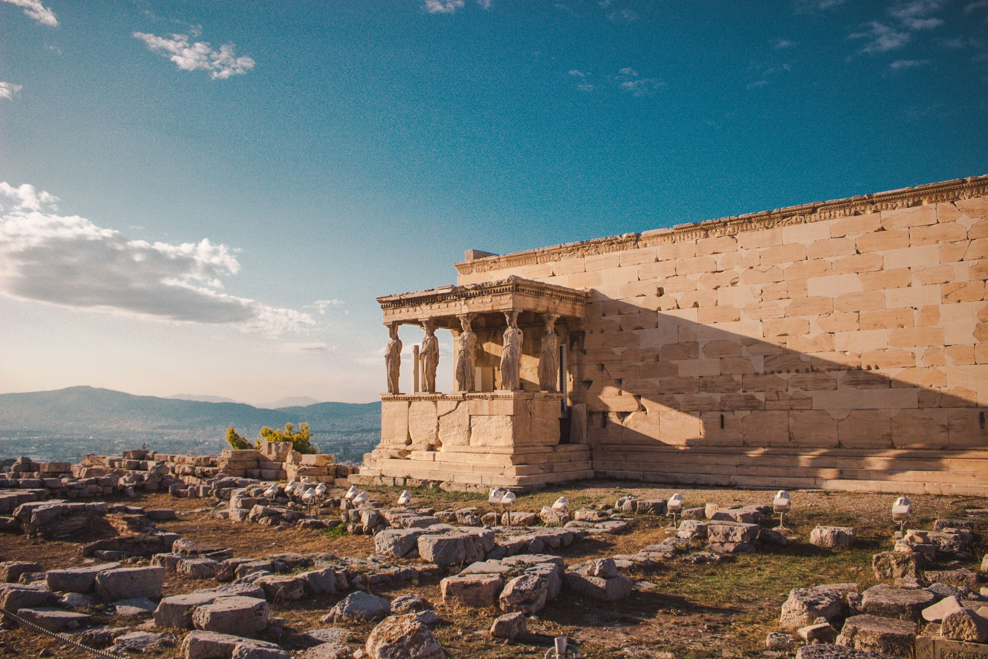 Greece Island Hopping Signature  Tours 2019 - 2020 -  Athens Temple in Ruins