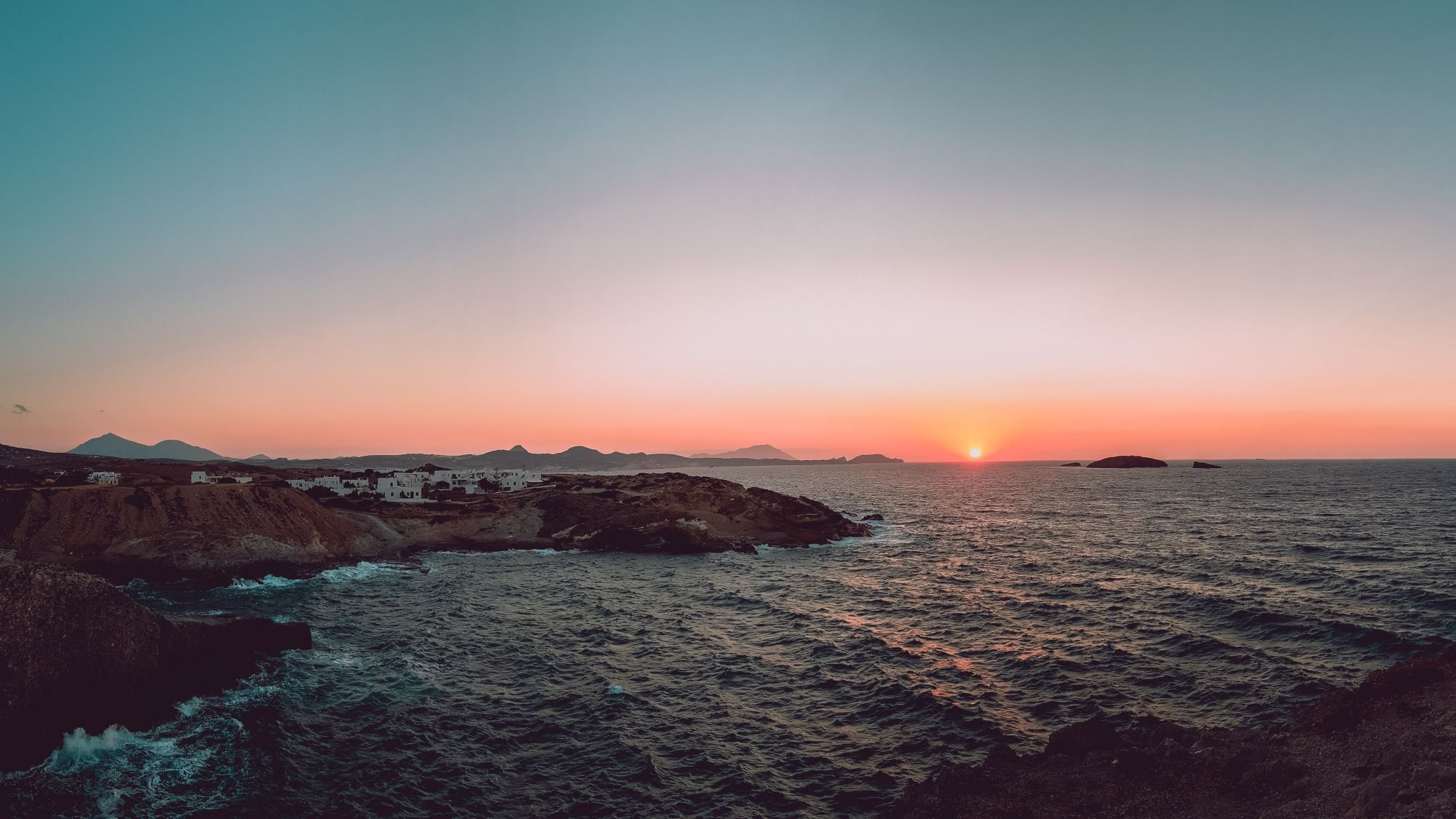 Islands of the Greek Cyclades Tours 2019 - 2020 -  Sunset In Milos, Greece