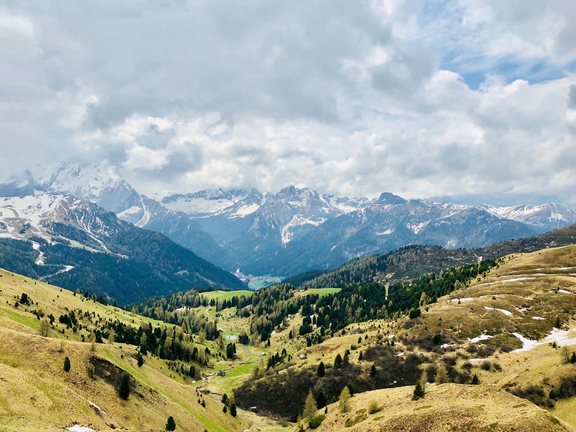 Alpine Peaks of Northern Italy Tours 2019 - 2020 -  selva mountains