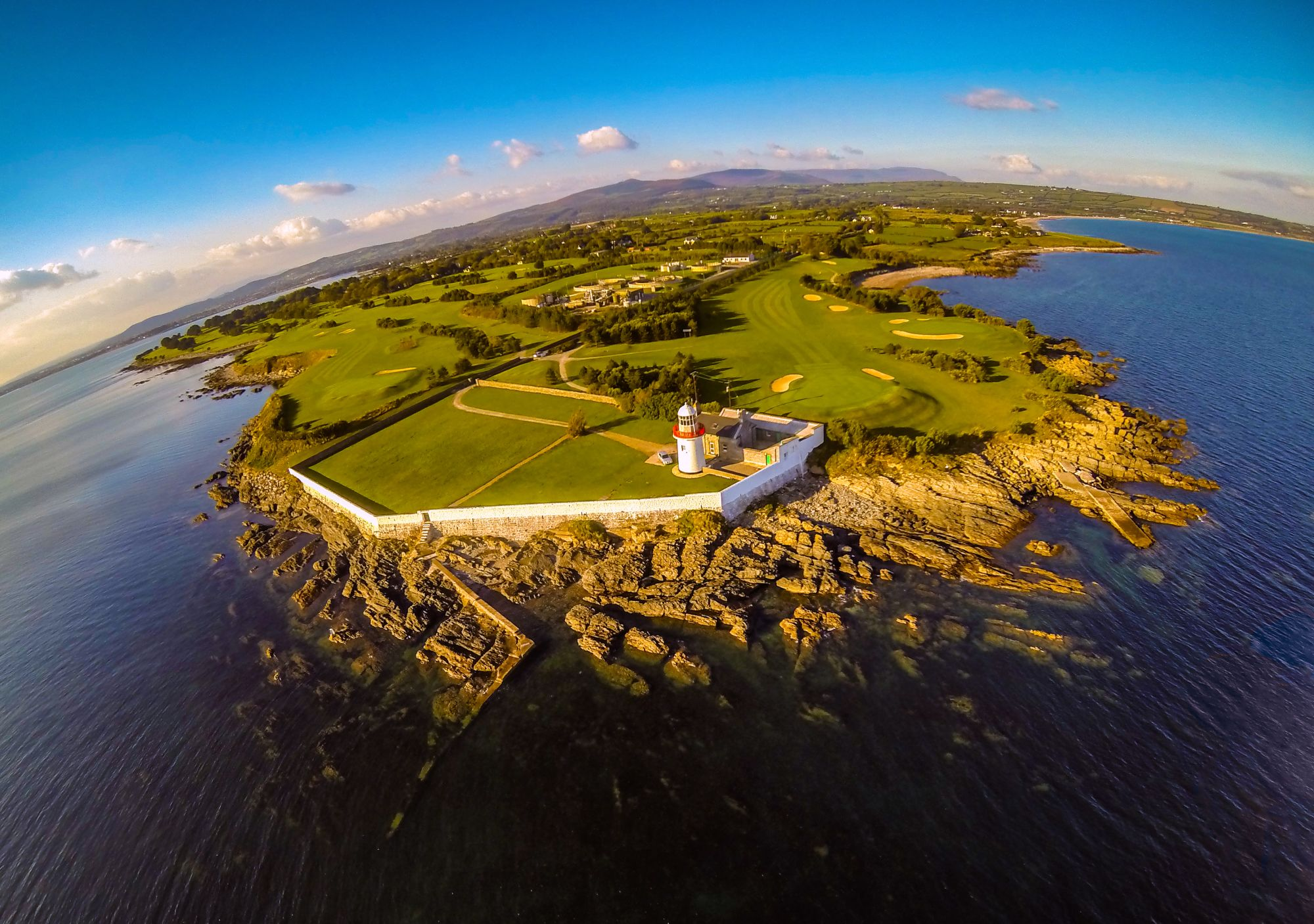 Celtic Roots of Ireland Tours 2019 - 2020 -  Ballinacourty Lighthouse