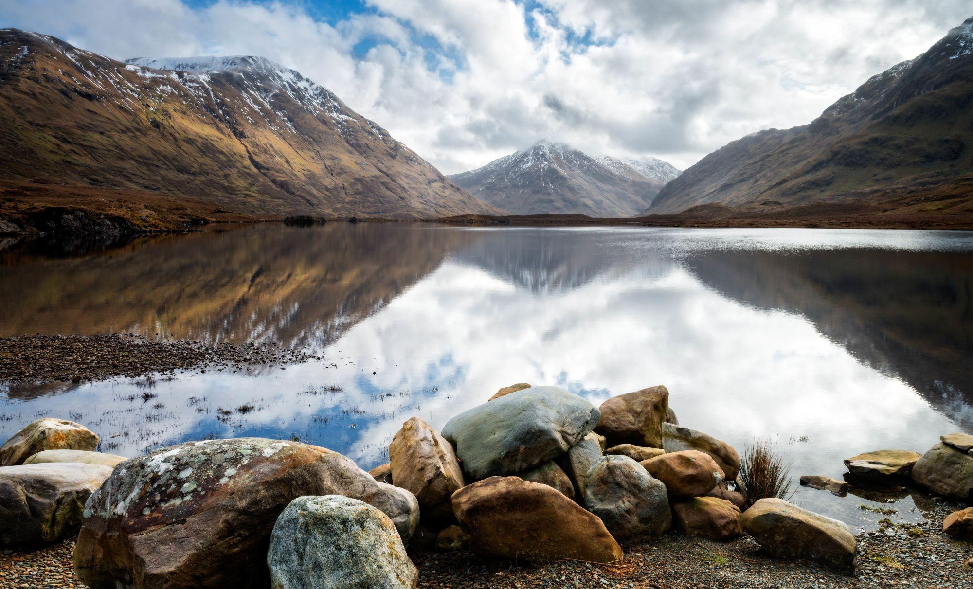 Ireland's Wild Atlantic Way Tours 2019 - 2020 -  lake in mountains