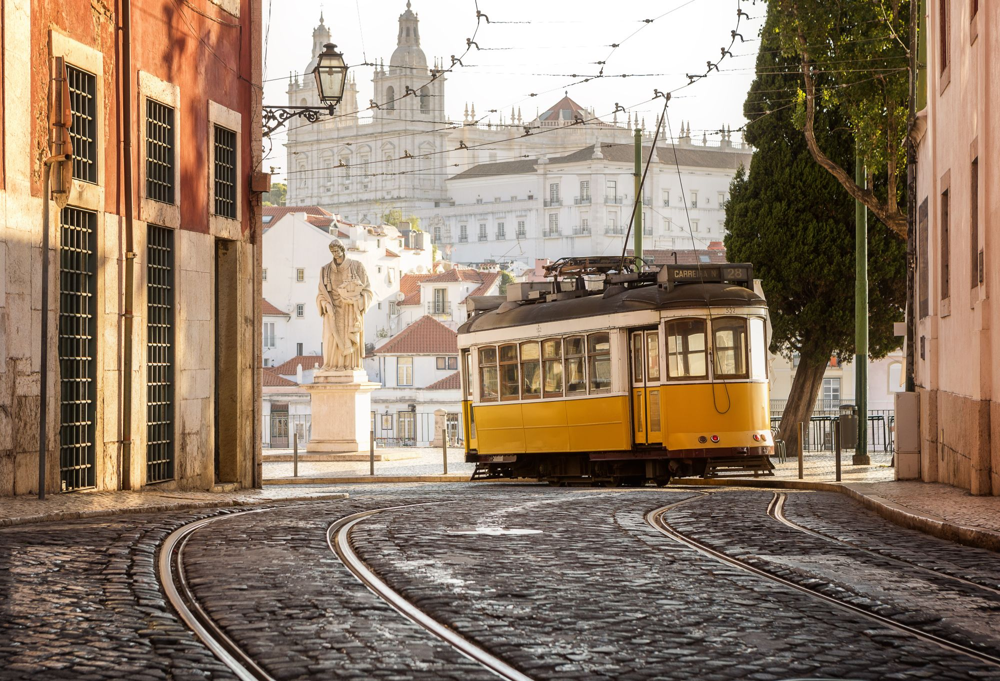 Spain, Portugal & Morocco Explorer Tours 2019 - 2020 -  Yellow tram