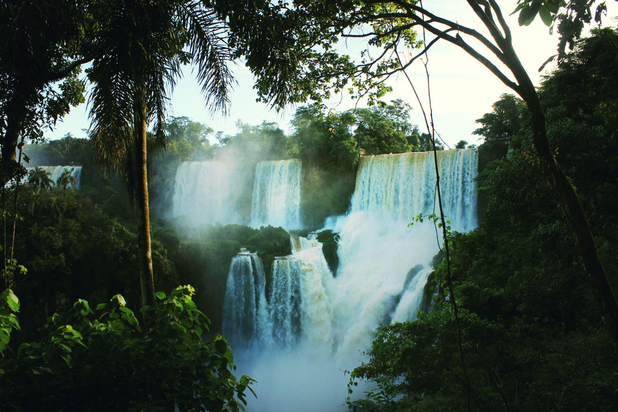 Argentina Signature Tours 2019 - 2020 -  Cascading waterfalls in Iguazu Falls