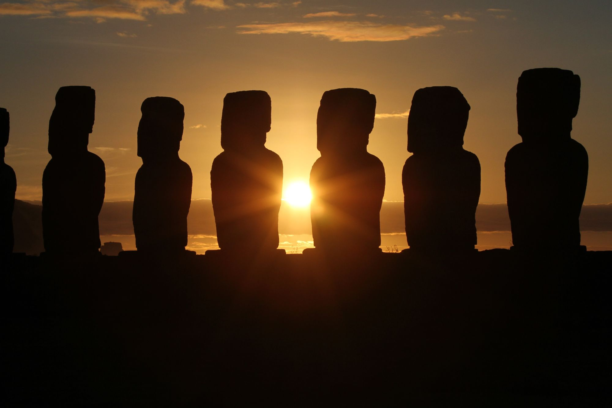 Machu Picchu & Easter Island Discovery Tours 2019 - 2020 -  Sunrise in Easter Island