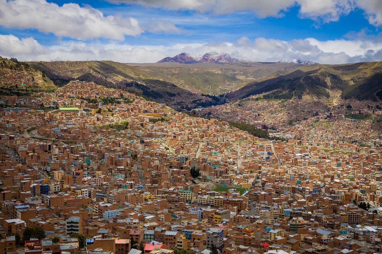 Peru, Bolivia and the Atacama Desert Tours 2019 - 2020 -  Capital of Bolivia, La Paz
