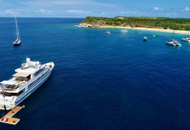 Meet Lionshare - A Marvelous Yacht for Ocean Adventure