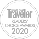 Condo Nast | Traveler Readers' Choice Awards 2020