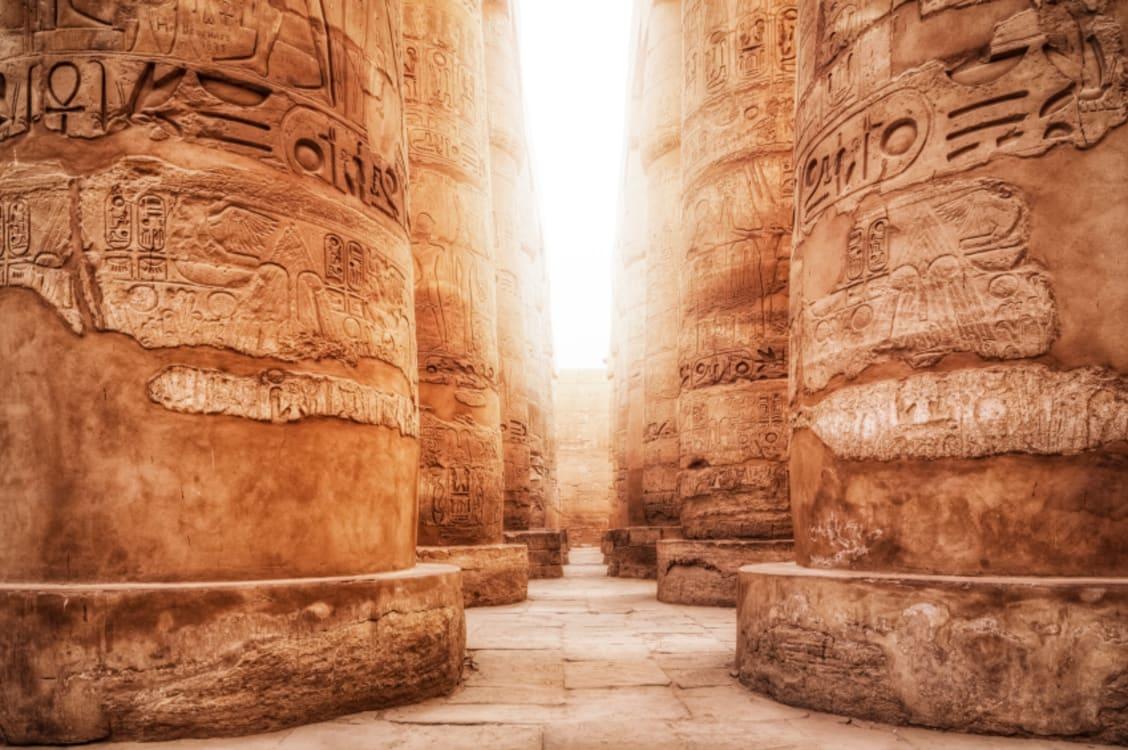 Luxor_Landscape_Karnak Temple Columns Light_iStock_000019606108Small