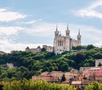 Paris, Provence & Barcelona by River Cruise Tours 2019 - 2020 -  Basilica View in Lyon