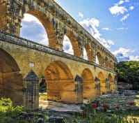 Paris, Provence & Barcelona by River Cruise Tours 2019 - 2020 -  Pont du Garde
