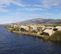 Peru and the Romance of Rail Tours 2019 - 2020 -  An Uros Island on Lake Titicaca